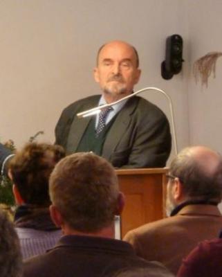 R. Eppelmann Nov. 2010 im DDR.Geschichtsmuseum
