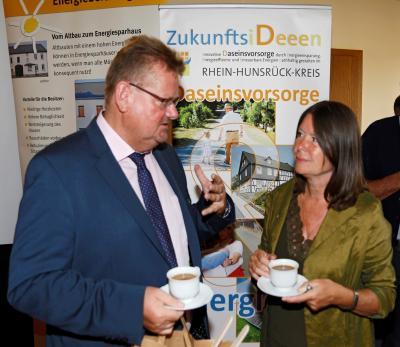 Foto zu Meldung: Besuch der rheinland-pfälzischen Umweltministerin