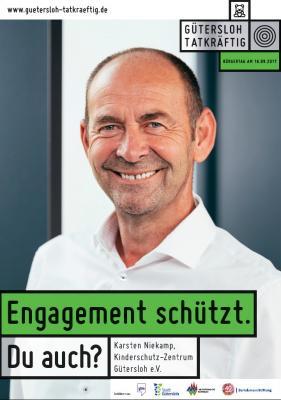 Fördervereins-Vorsitzender Karsten Niekamp