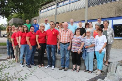 Gemeinde bedankte sich bei den Helfern der Ferienspiele