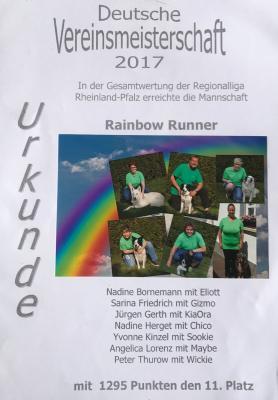 """Vorschaubild zur Meldung: """"Rainbow Runners"""" bei der DVM"""