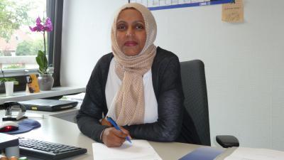Foto zur Meldung: Aziza Al-Radami neue Flüchtlingskoordinatorin