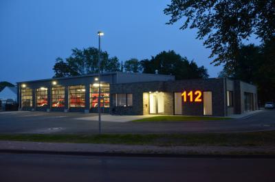 Das neue Feuerwehrgerätehaus in Bevergern