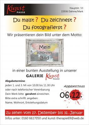 """Vorschaubild zur Meldung: GALERIE """"Kunstpause"""" ruft auf zum Mitmachen"""