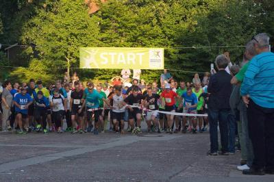Foto zur Meldung: Vom Bürostuhl zur Laufstrecke – Fläminger Verwaltungsmitarbeiter bestreiten gemeinsam den 5. Firmenlauf in Bad Belzig