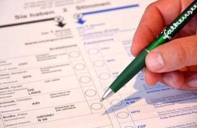 Bundestagswahl 2017 - Briefwahllokal im Bürgeramt hat seine Arbeit aufgenommen.