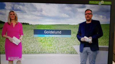 Foto zur Meldung: Goldelund in der Dorfgeschichte des Schleswig-Holstein Magazins mit Videobeitrag
