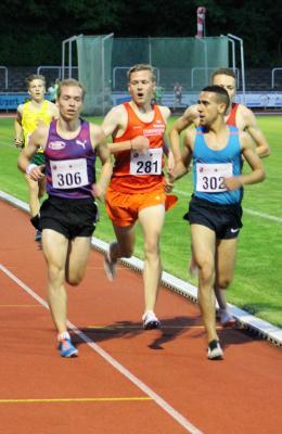 Foto zur Meldung: Schnelle LAZ-Athleten über 3.000 Meter