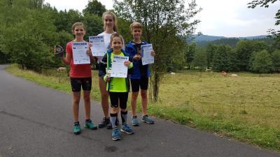 Vier Schülersiege am Mommelstein