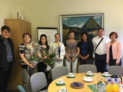 Foto zu Meldung: Ungarische Gäste zu Besuch