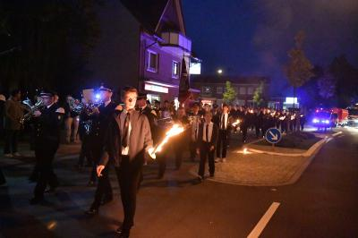 Vorschaubild zur Meldung: Feierlicher Umzug in das neue Feuerwehrgerätehaus in Bevergern
