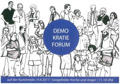 Inmitten der Kunstmeile (9. September, 11 bis 18 Uhr) findet in diesem Jahr erstmalig ein Demokratieforum der Partnerschaft für Demokratie statt.