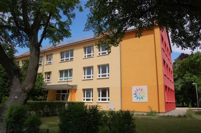 Die Mensa der Europaschule am Gutspark erhält eine neue Lüftungsanlage.