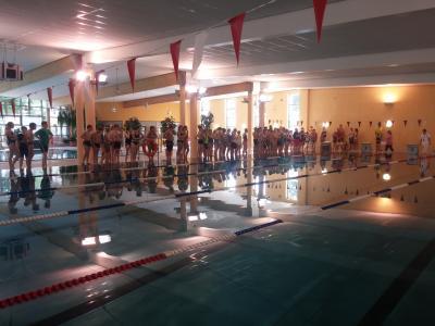 Vorschaubild zur Meldung: Kreisjugendspiele Schwimmen – Ernst-Abbe-Gymnasium erneut mit starker Leistung