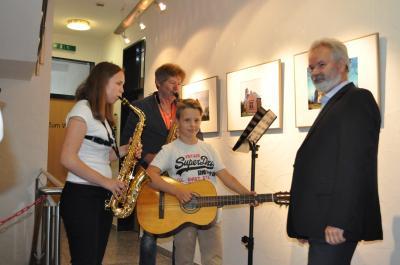 Foto zur Meldung: Vernissage im Rathaus Grünheide (Mark)