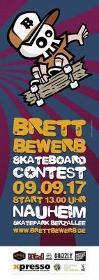 Foto zur Meldung: BRETTBEWERB 2017- Skateboard-Contest Rhein-Main