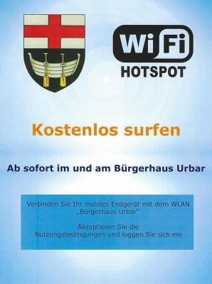 Vorschaubild zur Meldung: Kostenlos surfen mit dem freien WiFi im Bürgerhaus