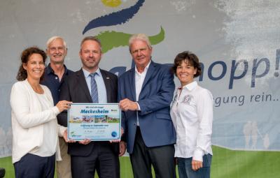 Foto zur Meldung: Meckesheim freut sich über besonderen Ort der Begegnung