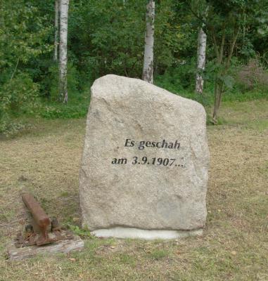 Foto zu Meldung: Es geschah am 3. September vor 110 Jahren