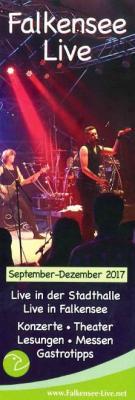 """Das Heft """"Falkensee Live"""" gibt wieder Tipps zu Veranstaltungen in Falkensee."""
