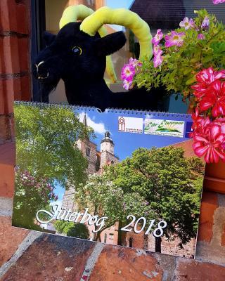 Vorschaubild zur Meldung: Der neue Jüterbog-Kalender 2018 ist da