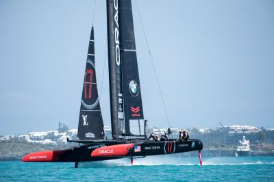 Foto von Sam Greenfield, Oracle Team USA