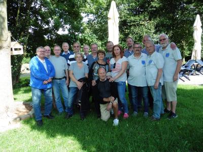 Foto zur Meldung: Landesmeisterschaften Pétanque Mannschaft Hameln
