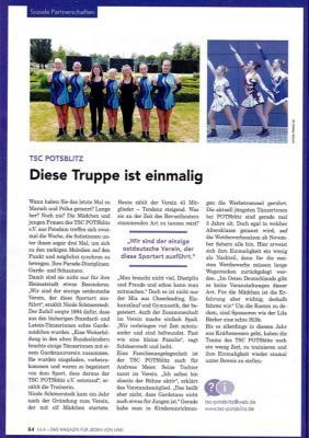 Vorschaubild zur Meldung: Artikel in der Zeitung vom Lila Bäcker