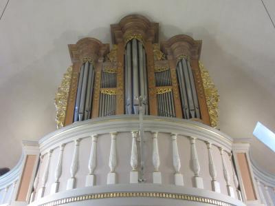 Foto zur Meldung: Orgelkonzert an der Balthasar König Orgel von 1749 in Wollmerath,  Pfarrkirche St. Maria Magdalena