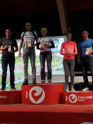 Vorschaubild zur Meldung: Jörg Lindert gewinnt die Triathlon-Challenge Walchsee in Tirol.