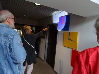 """Foto zur Meldung: Kunstausstellung """"Mein Quantensprung"""" im Rathaus eröffnet"""