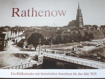 Foto zur Meldung: Bildkalender mit historischen Ansichten der Stadt Rathenow