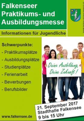 14. Falkenseer Praktikums- und Ausbildungsmesse