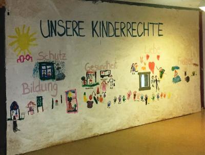 Die Kita Gänsseestraße hat sich intensiv mit dem Thema Kinderrechte beschäftigt. Einige der Kita-Kinder treten auch auf dem Weltkindertag auf.