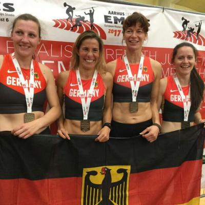 Foto zur Meldung: Als Europameisterin aus Aarhus zurück
