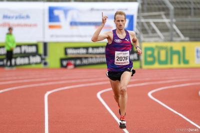 Foto zur Meldung: Christian Schreiner läuft Streckenrekord in Fulda