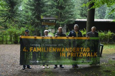 Foto zu Meldung: Pritzwalker Familienwandertag 2017