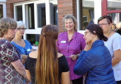 """Am Samstag, 19. August, fand in der Kita Vilbeler Straße in Maintal-Dörnigheim mit dem """"Praxistag U 3"""" eine ganztägige Fachtagung statt. 36 Teilnehmerinnen trafen sich dabei zum fachlichen Austausch."""