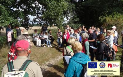 Foto zur Meldung: Deutsch-polnische Begegnung auf dem Liederweg