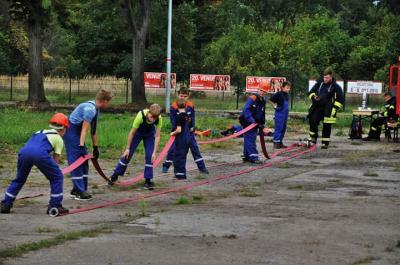 Foto zu Meldung: Feuerwehr Oranienburg: Stadtjugendwettbewerb