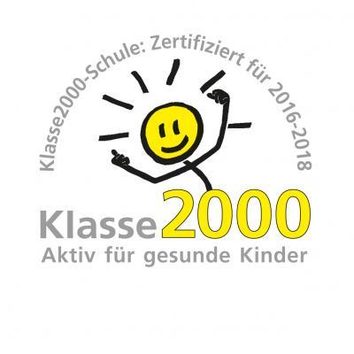 Foto zu Meldung: Klasse 2000-Paten für die Klassen 1a und 1b