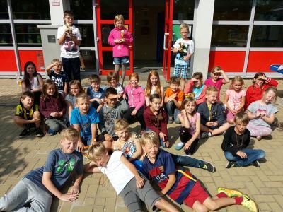 Foto zur Meldung: Grundschule am See - Sommerferienbetreuung 2017