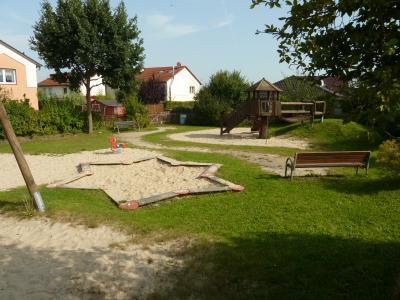 Foto zu Meldung: Mehrgenerationenspielplatz in Danndorf