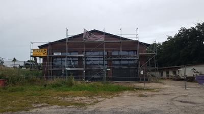 Foto zur Meldung: Sachstand Neubau Feuerwehrgerätehaus Groß Twülpstedt