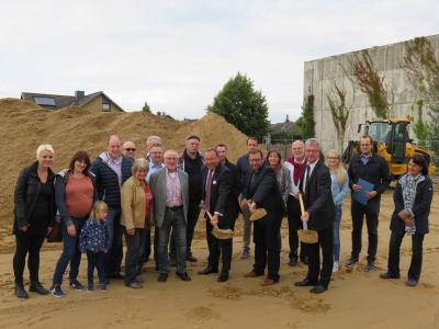 Foto zur Meldung: Spatenstich - Neubau einer Kindertagesstätte in Velpke