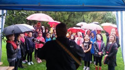 Singing in the rain :)
