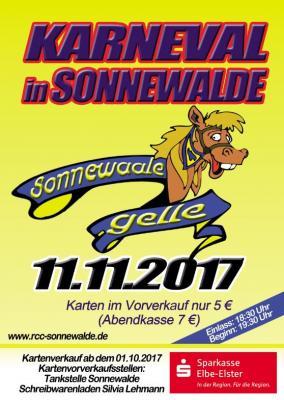 Foto zur Meldung: Karnevalsauftakt am 11.11.2017