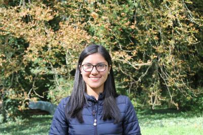 Foto zur Meldung: Herzlich willkommen Silvia María Pérez!