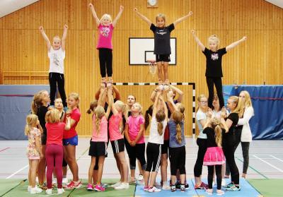 Foto zur Meldung: Probetraining beendet – Cheerleader starten wieder durch