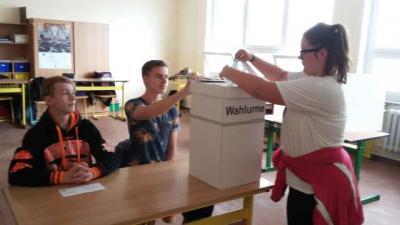 Foto zu Meldung: Demokratie erleben: Die Juniorwahlen